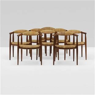Hans Wegner The Chairs, set of eight