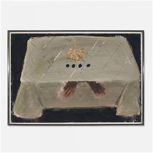Antoni Tàpies Table with Black Spots