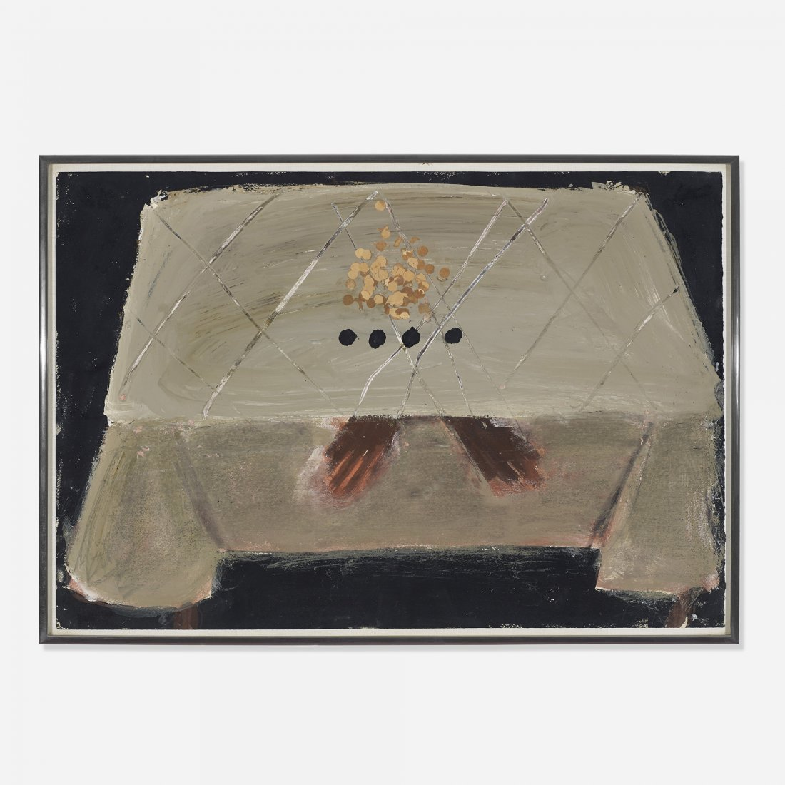 Antoni Tàpies Table with Black Spots