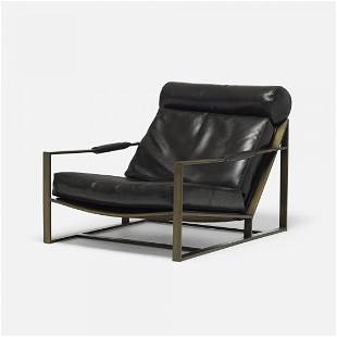 Milo Baughman lounge chair, model B-1739
