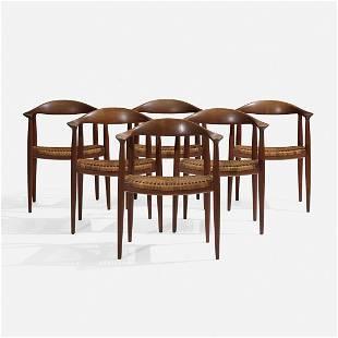 Hans Wegner The Chairs, set of six