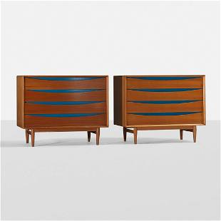 Arne Vodder cabinets, pair
