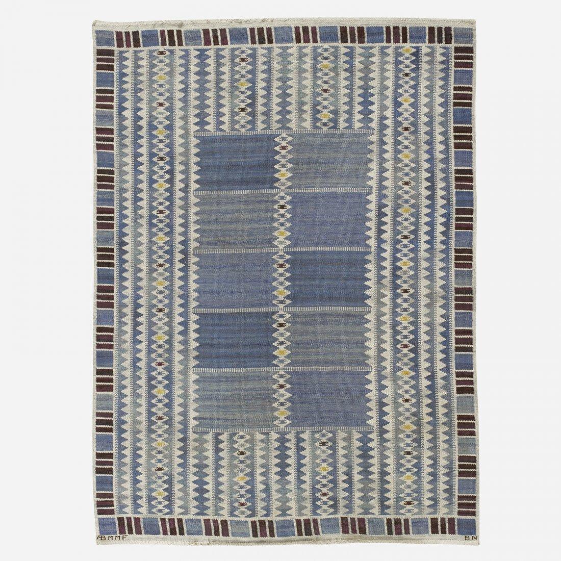 Barbro Nilsson Salerno flatweave carpet