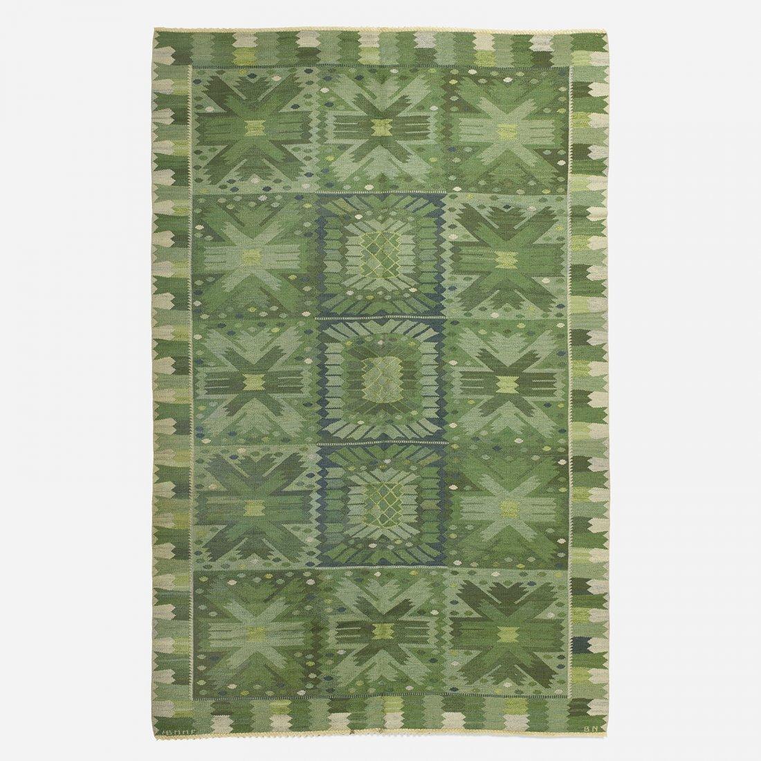 Barbro Nilsson Carnations flatweave carpet