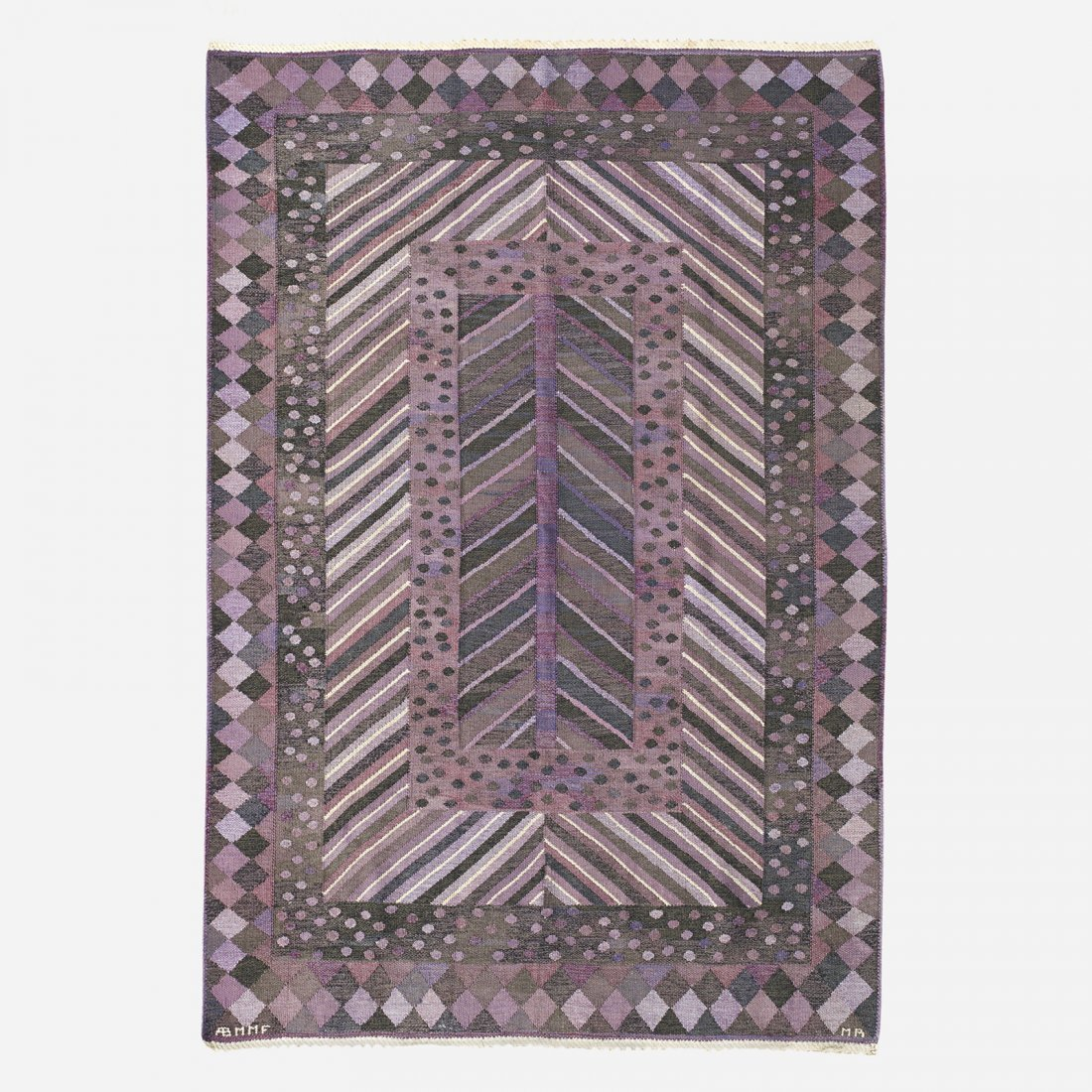 Marianne Richter Granen flatweave carpet