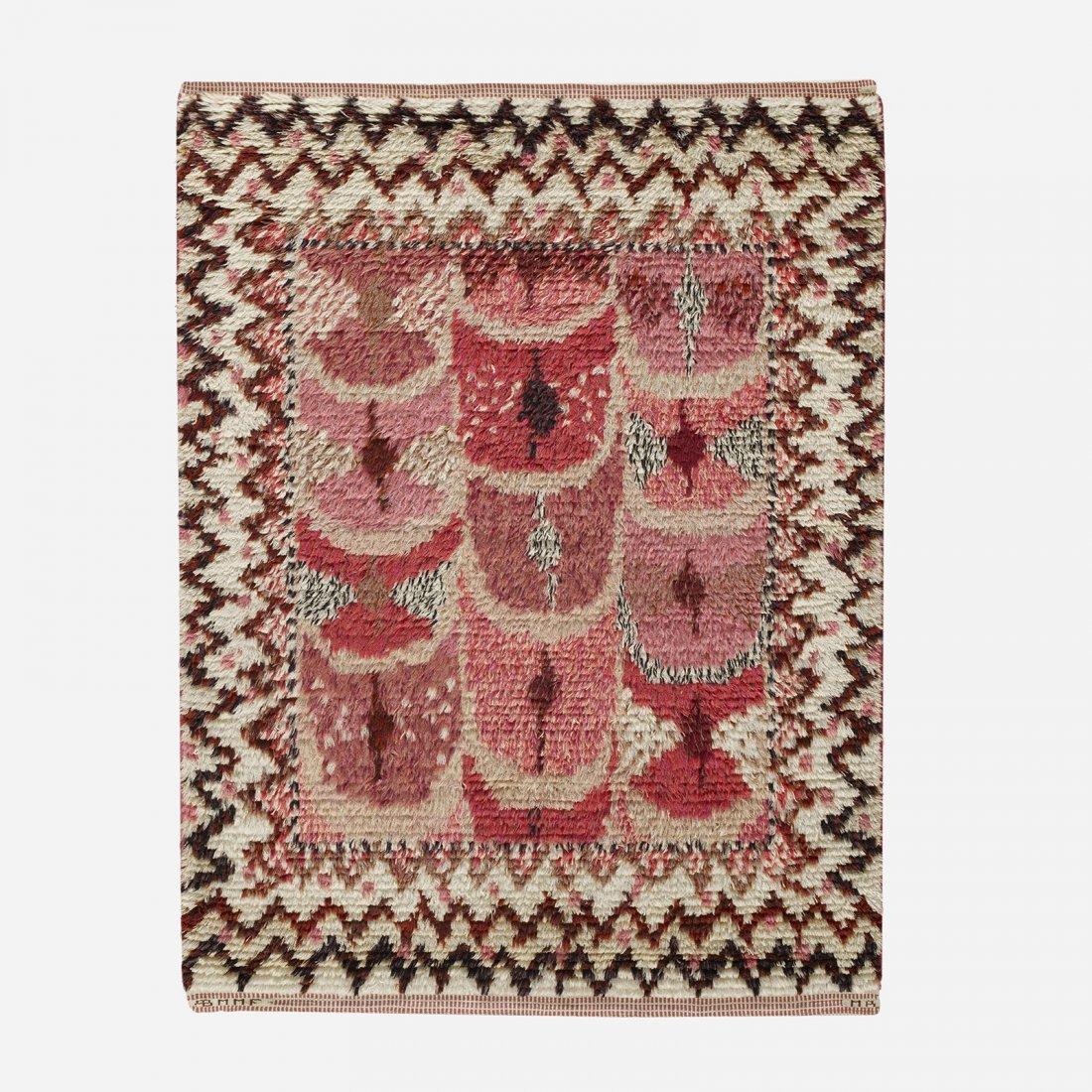 Marianne Richter Fjädern pile carpet