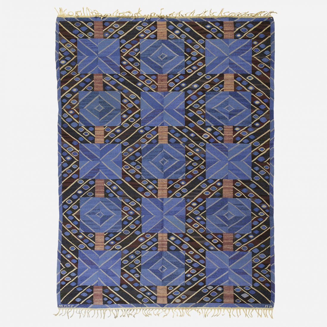 Marianne Richter Strålarna flatweave carpet