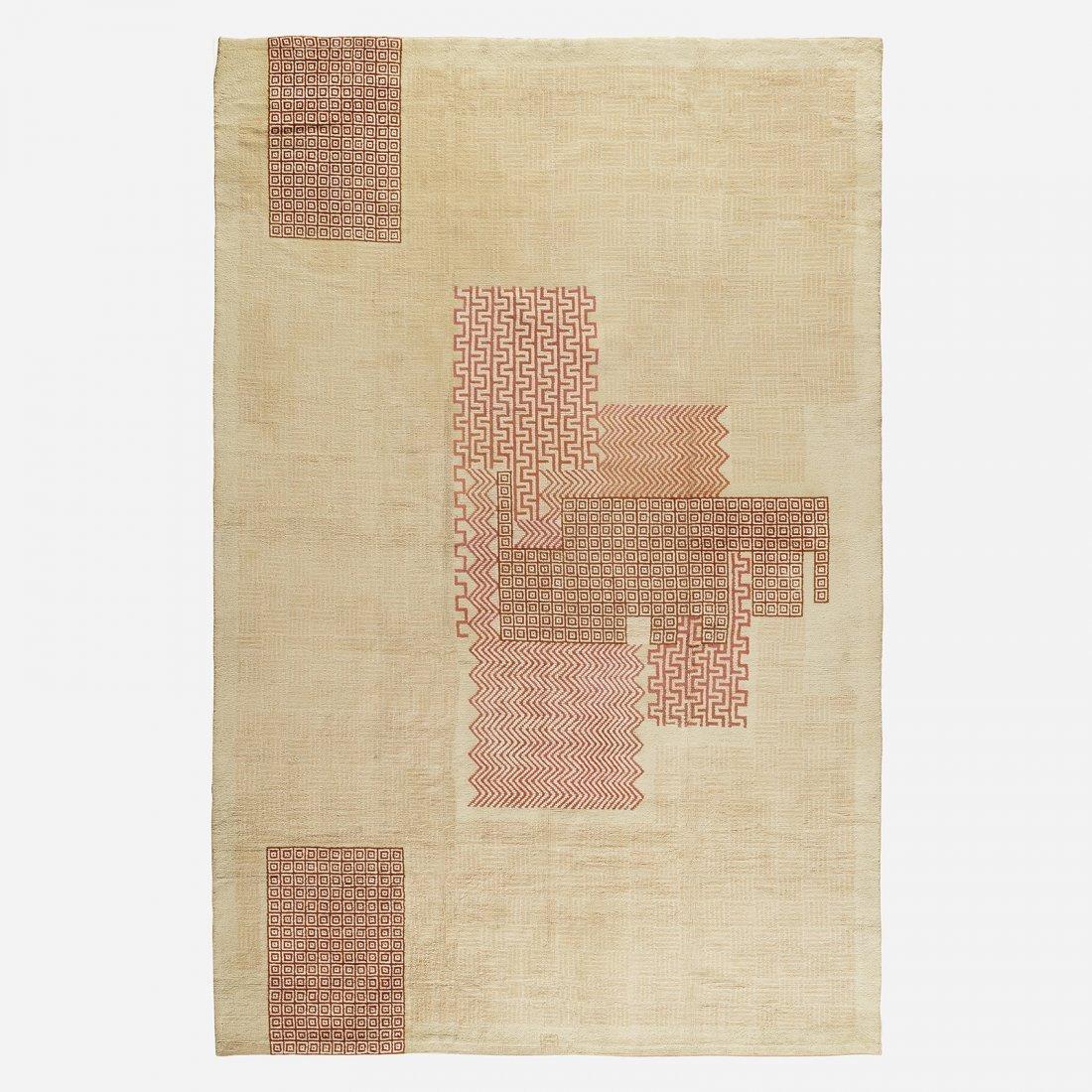 Ivan da Silva Bruhns Important pile carpet