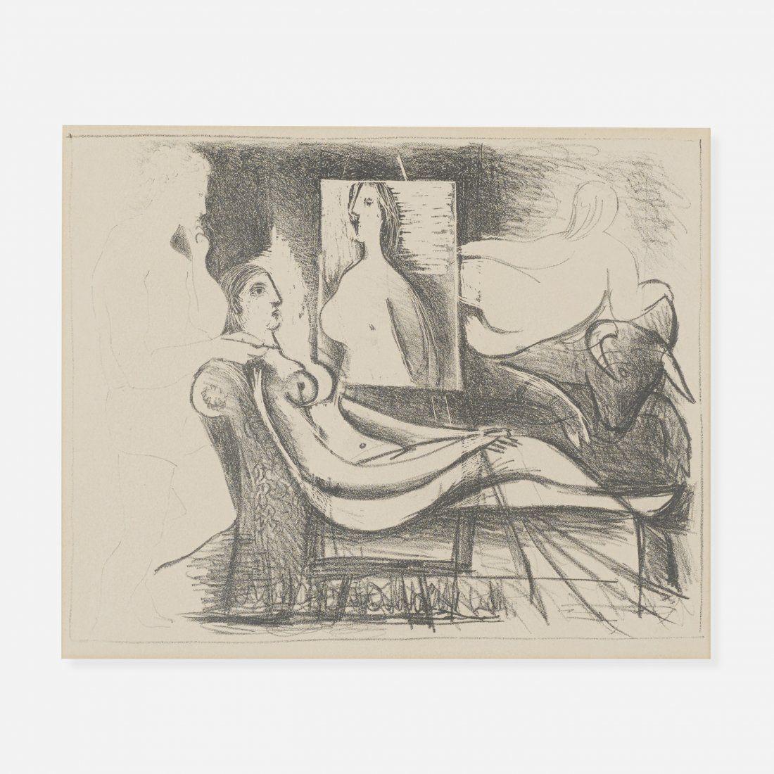 Pablo Picasso Le Peintre et son Modele