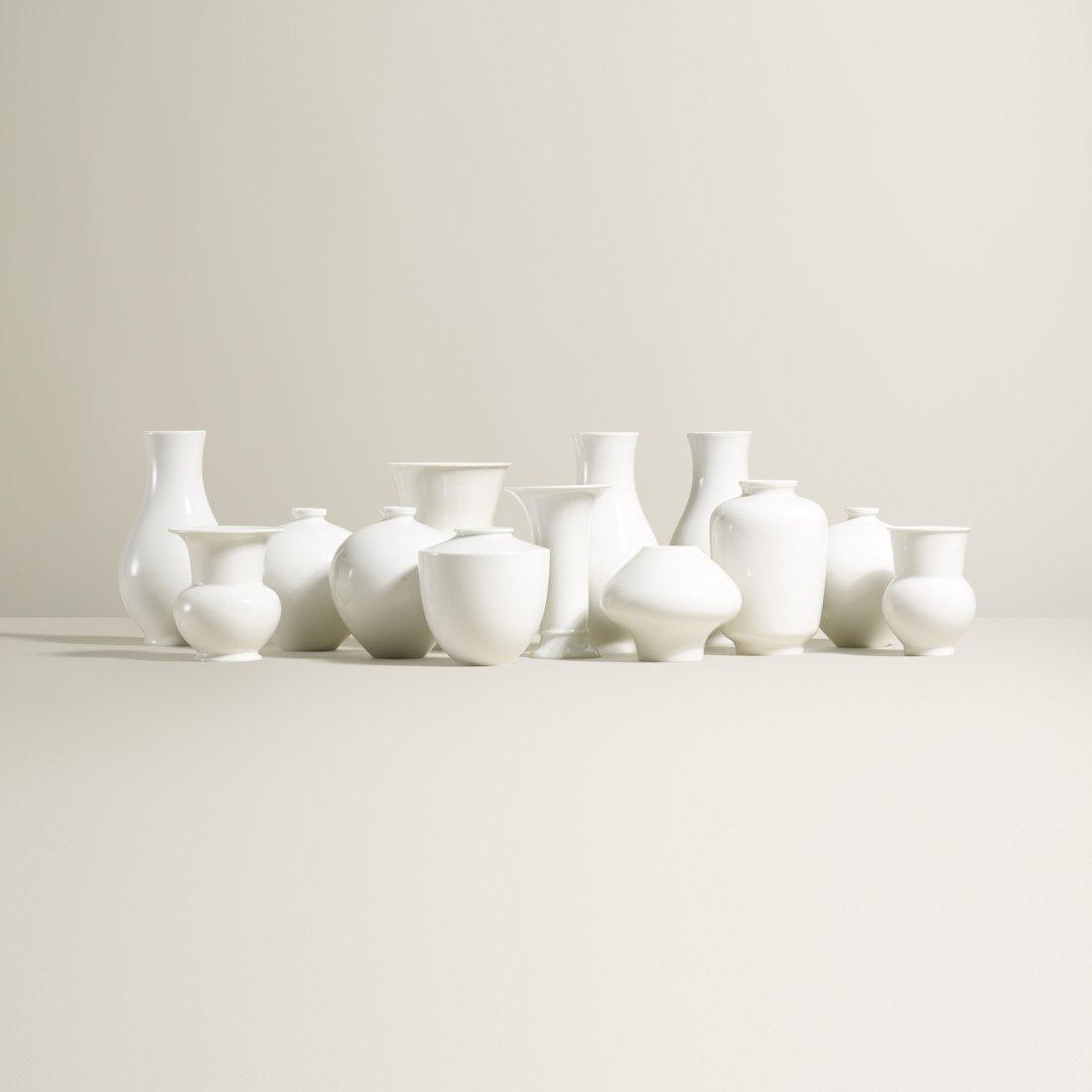 Königliche Porzellan-Manufaktur collection of vases