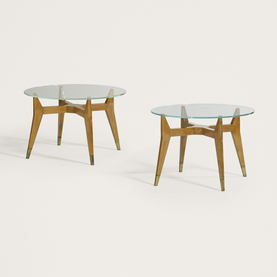Italian occasional tables, pair