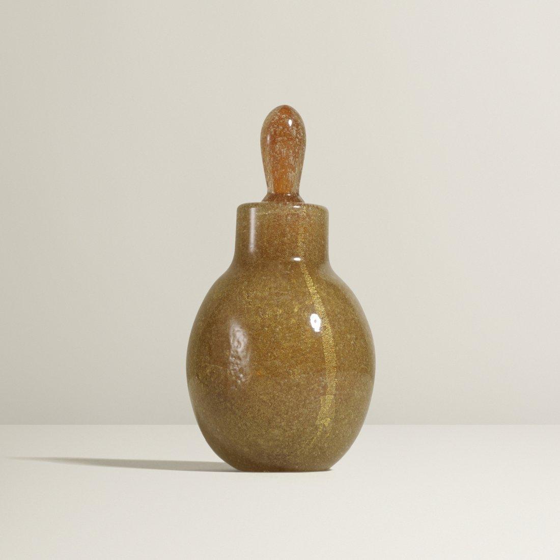 Carlo Scarpa bottle with stopper, model 655