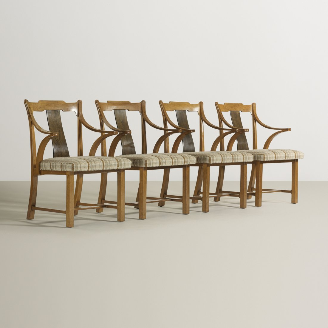 Edward Wormley chairs model 5718, set of four