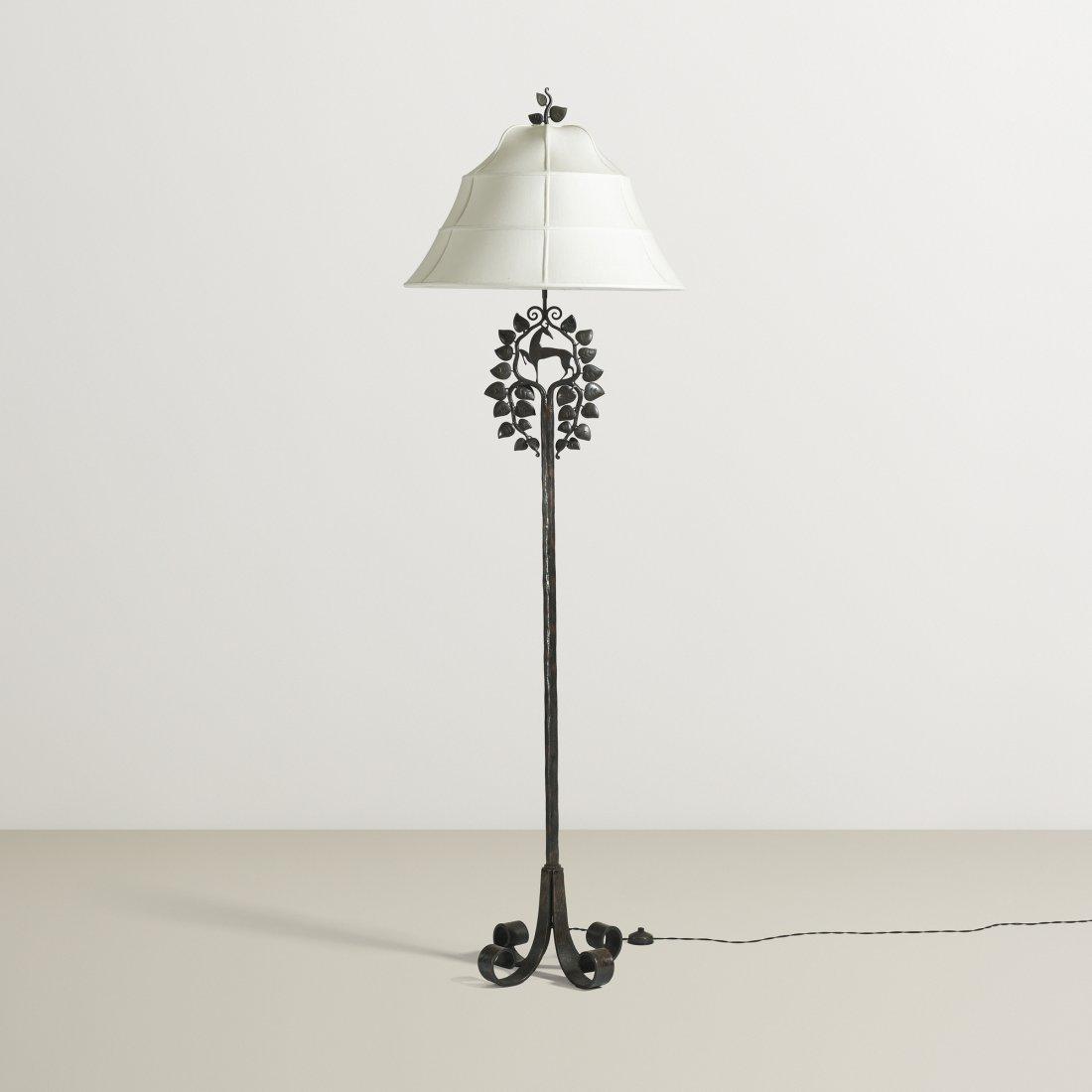 Edgar Brandt floor lamp