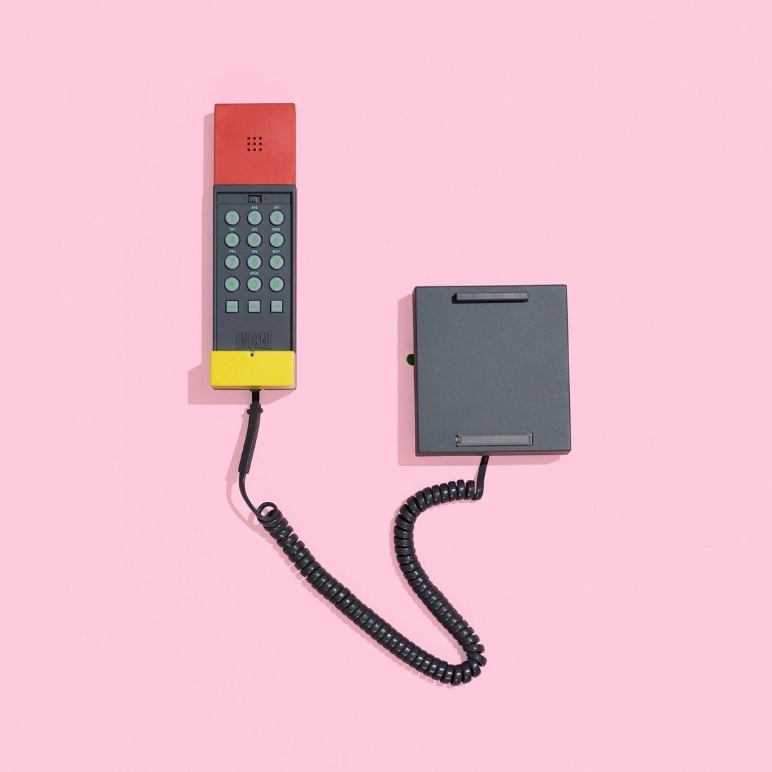 Sottsass Associati Enorme telephone