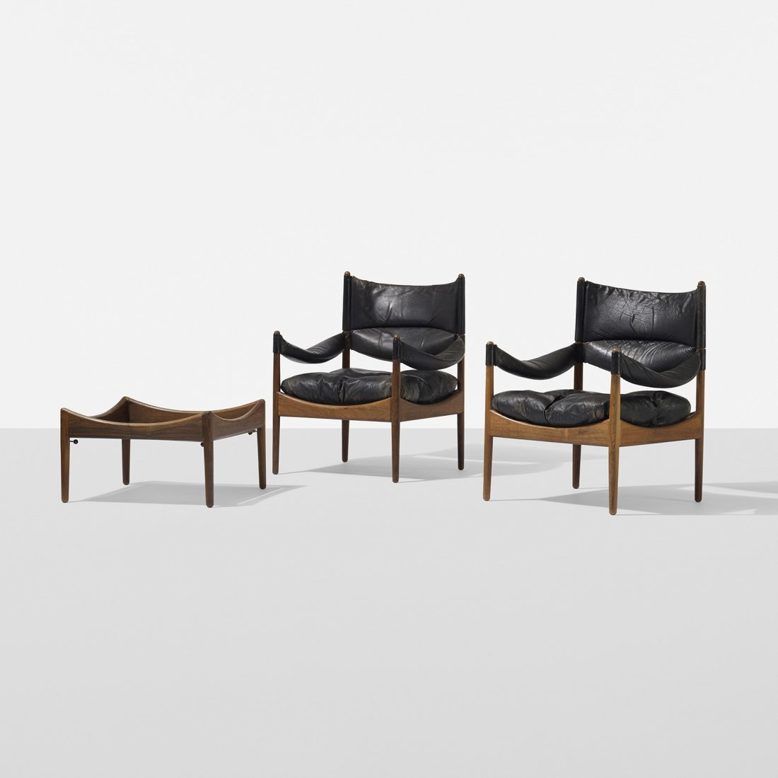 Kristian Vedel pair of Modus chairs and table