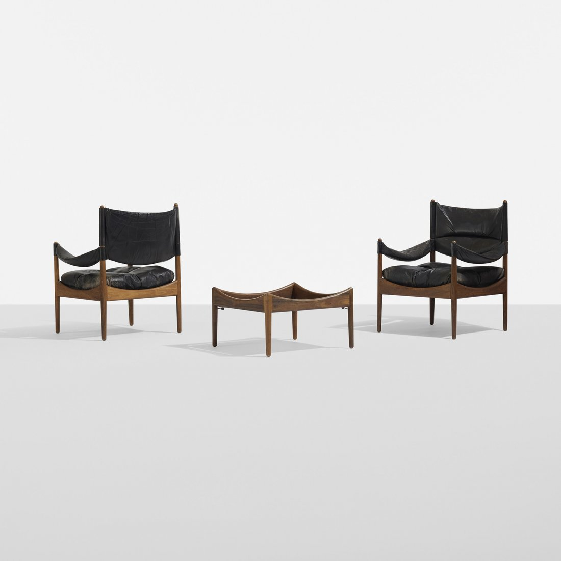 Kristian Vedel pair of Modus chairs and table - 2