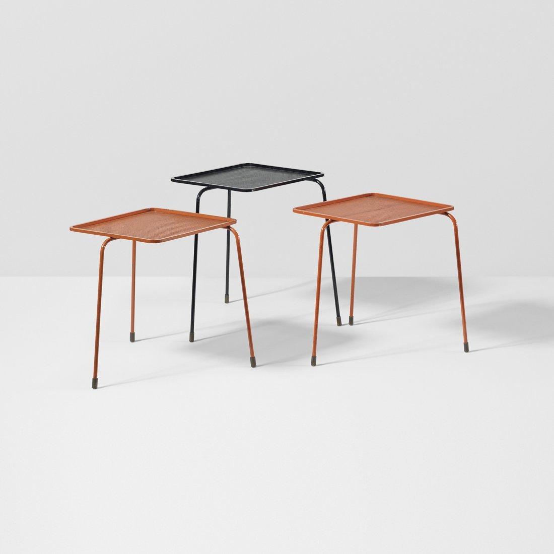Mathieu Matégot Soumba nesting tables, set of three