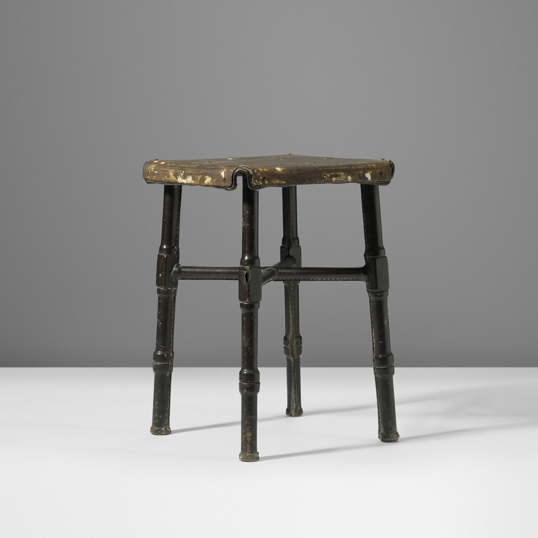 Jacques Adnet stool