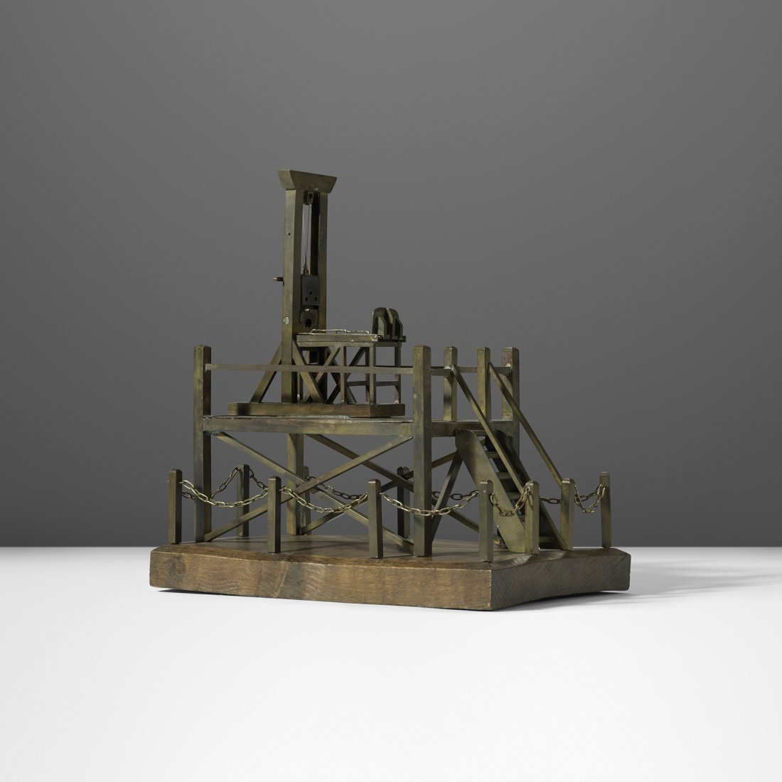 French guillotine model