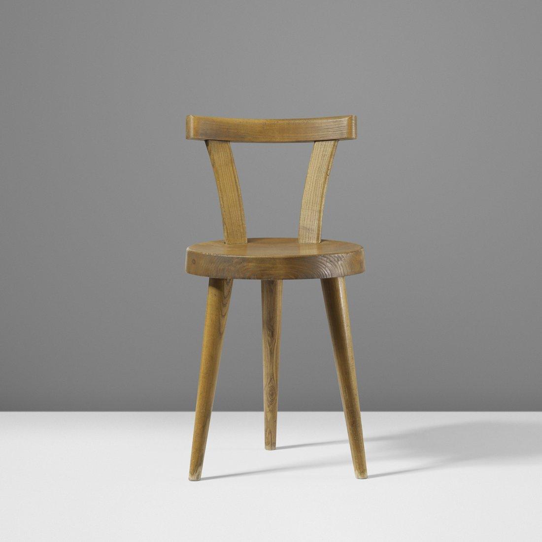 Charlotte Perriand three legged chair