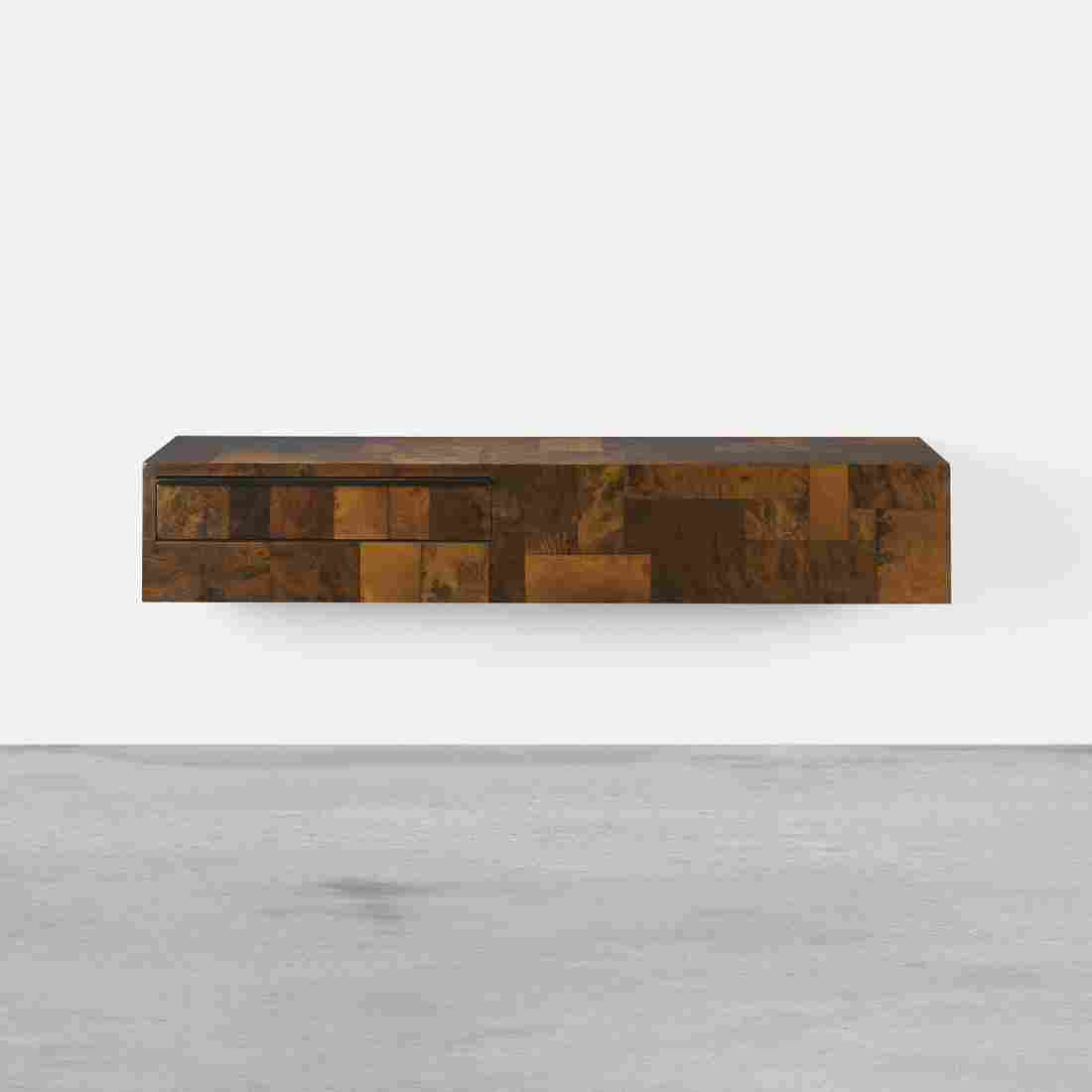 Paul Evans wall-mounted Cityscape console