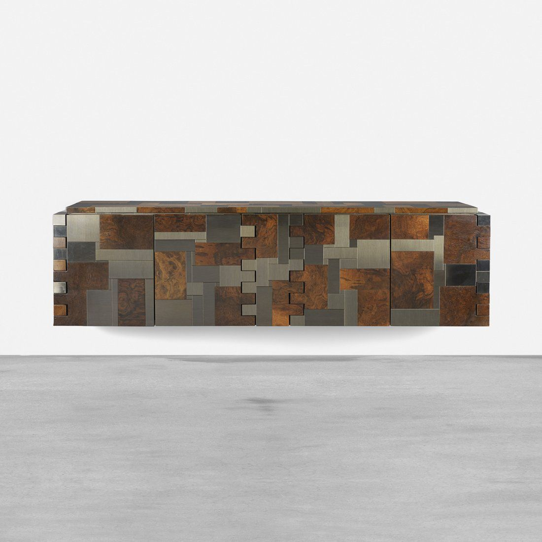 Paul Evans wall-mounted Cityscape cabinet