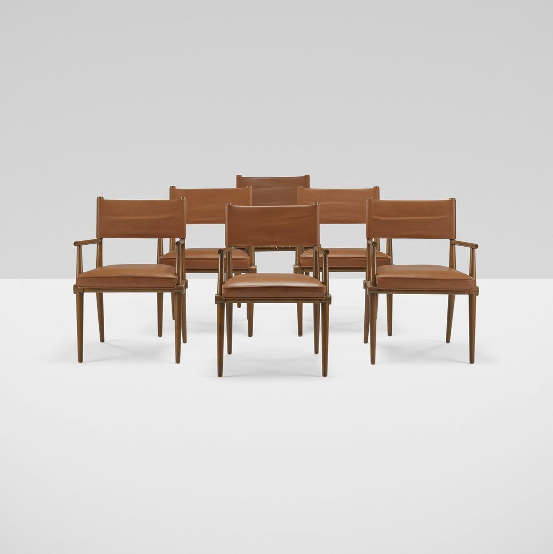 Tommi Parzinger dining chairs, set of six