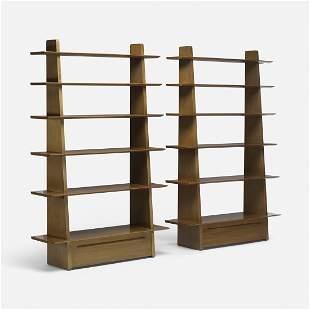 Edward Wormley rare bookcases model 5264, pair