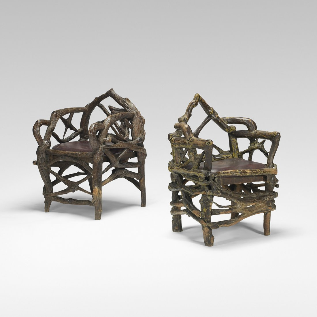 American pair of chairs from Al Capone's retreat