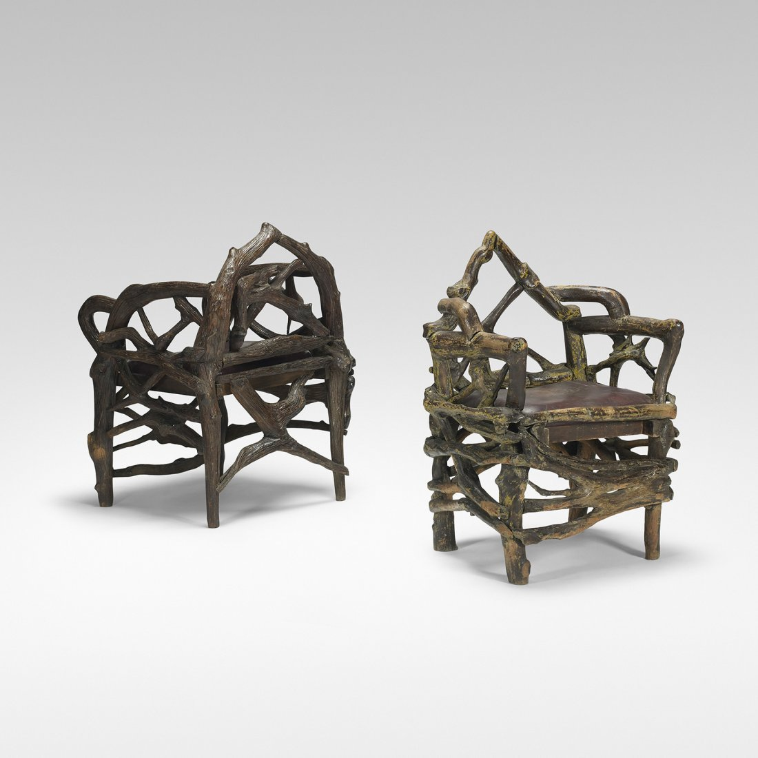 American pair of chairs from Al Capone's retreat - 2