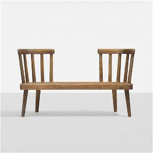 Axel Einar Hjorth Uto bench