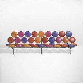 George Nelson & Associates Rare Marshmallow Sofa