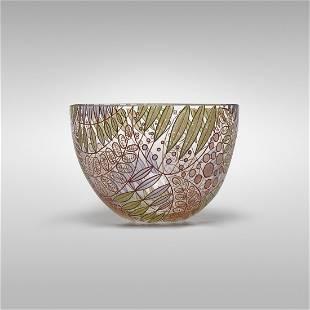 Vittorio Zecchin A Smalti bowl