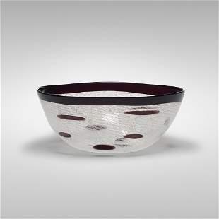 Archimede Seguso Merletto bowl