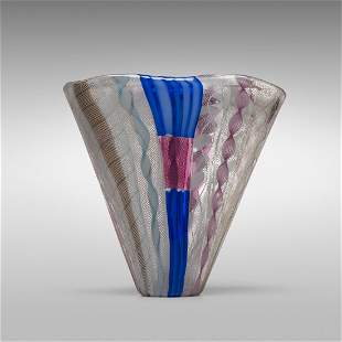 Dino Martens rare Zanfirico vase