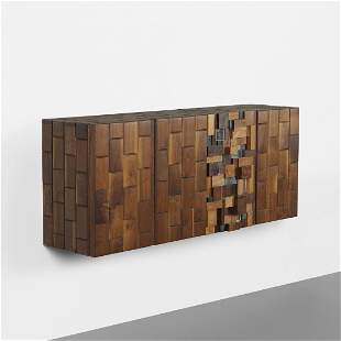 Phillip Lloyd Powell wall-mounted cabinet