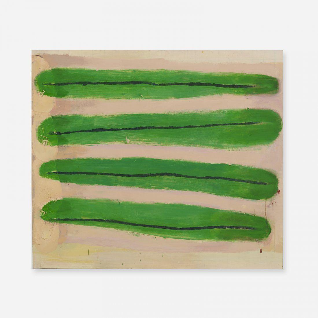 Katherine Bradford Long Green Beans