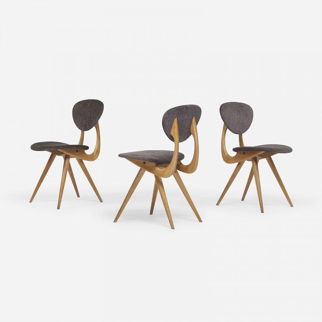 Italian chairs, set of three
