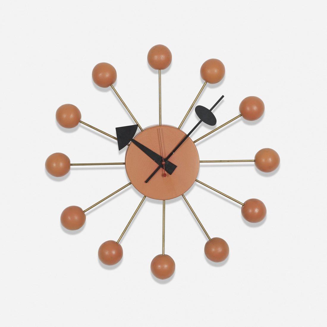 George Nelson & Associates Ball wall clock, model 4755
