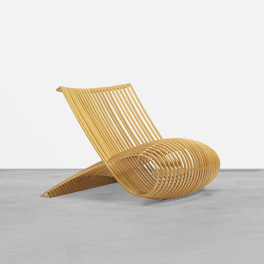 Marc Newson Wooden Chair