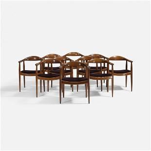 Hans Wegner The Chairs, set of ten