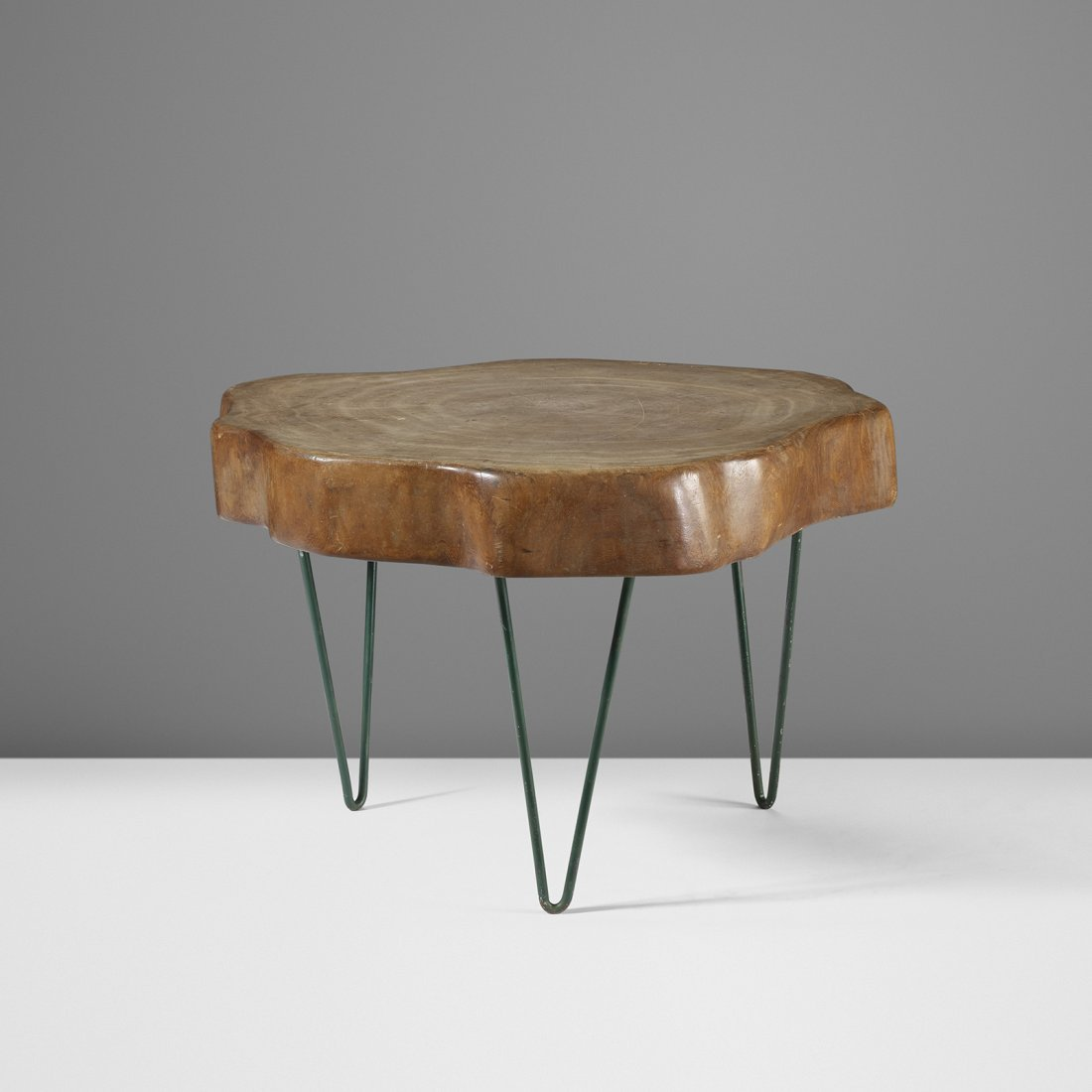 Jeanneret Important and Rare Tree Trunk coffee table