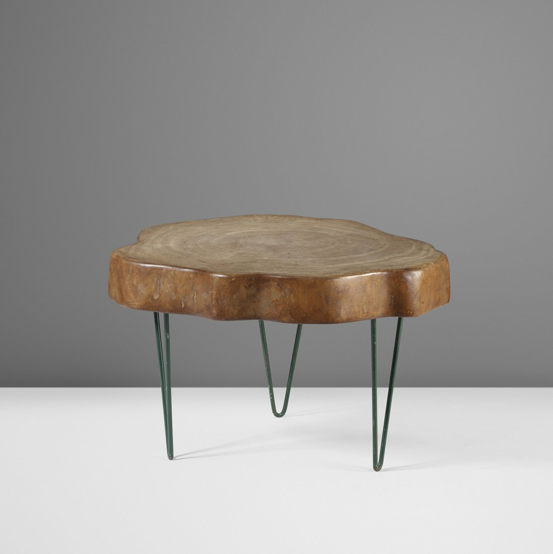 Jeanneret Important and Rare Tree Trunk coffee table - 2