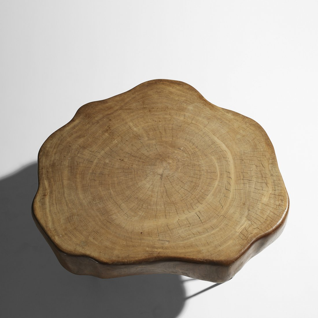 Jeanneret Important and Rare Tree Trunk coffee table - 3