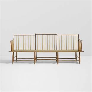 Edward Wormley Rare bench, model 4871