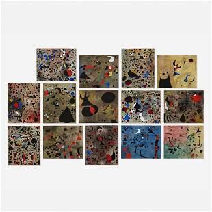 Joan Miro Constellations portfolio