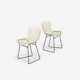 Harry Bertoia Child's Chairs, Pair