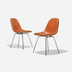 Charles And Ray Eames Dsx-1s, Pair