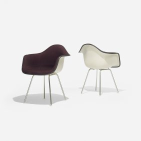 Charles And Ray Eames Dax-1s, Pair